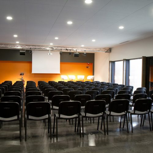 Salle du lac - configuration auditorium