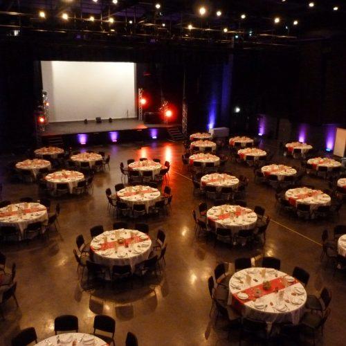 Grande salle - Evénementiel - repas spectacle