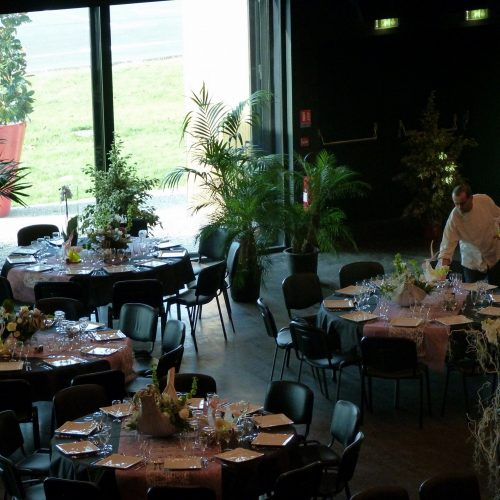 Grande salle - Repas assis - diner spectacle